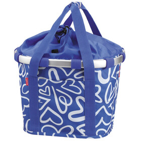 KlickFix Reisenthel Bike Basket blue/white